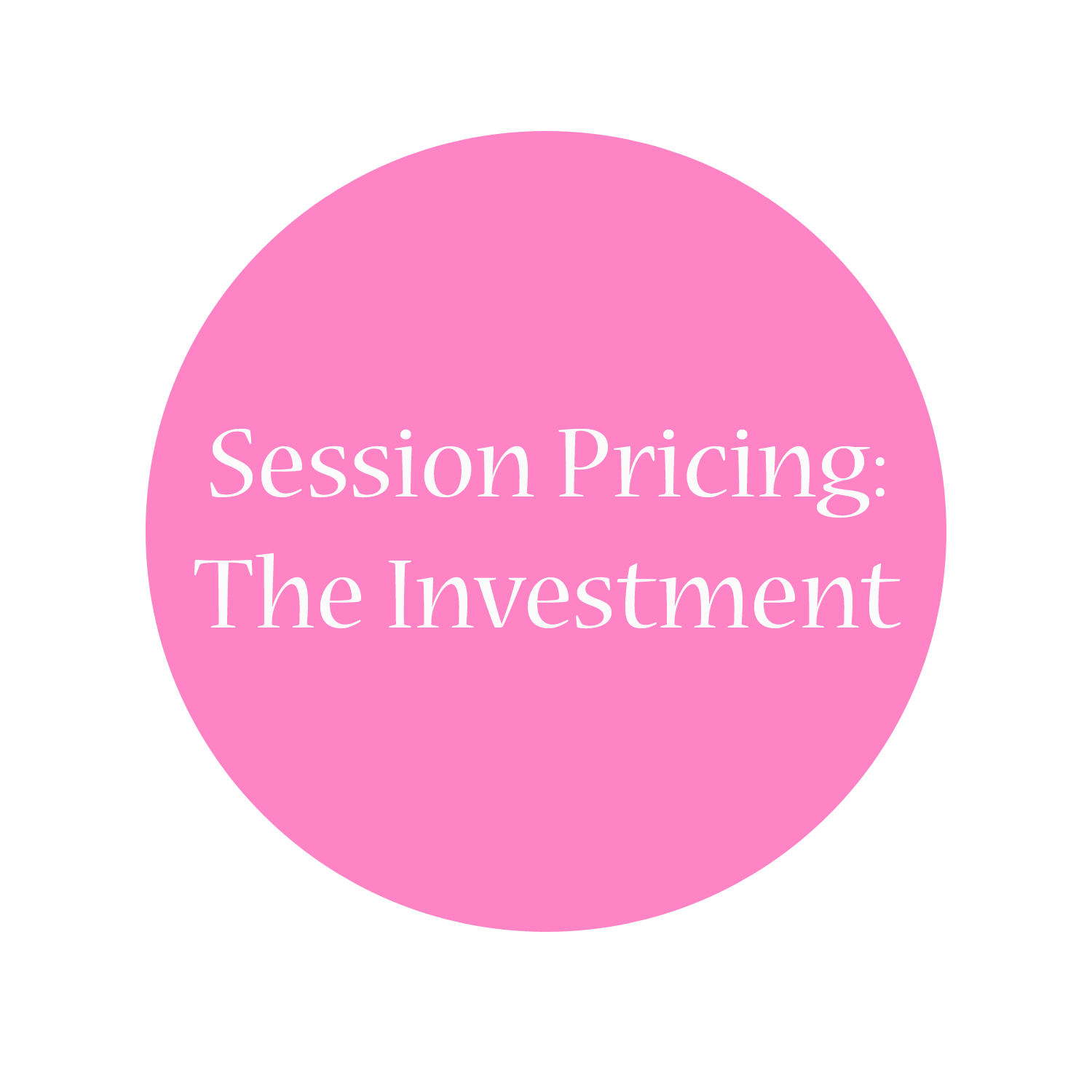 session pricing